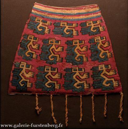 Sac à coca textile
