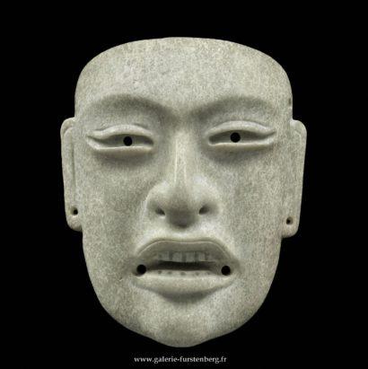 Masque Olmèque en jadéite